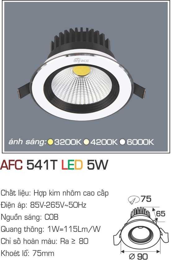 ĐÈN AFC 541T LED 5W