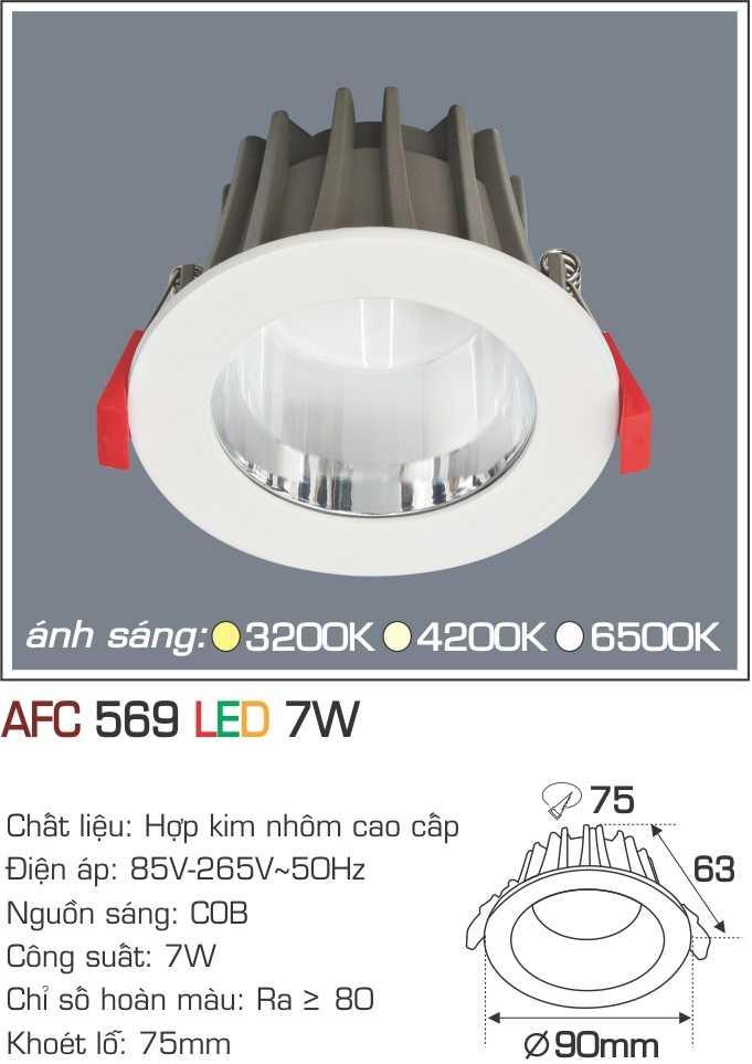 ĐÈN AFC 569 LED 7W