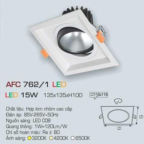 ĐÈN AFC 762/1 LED 15W