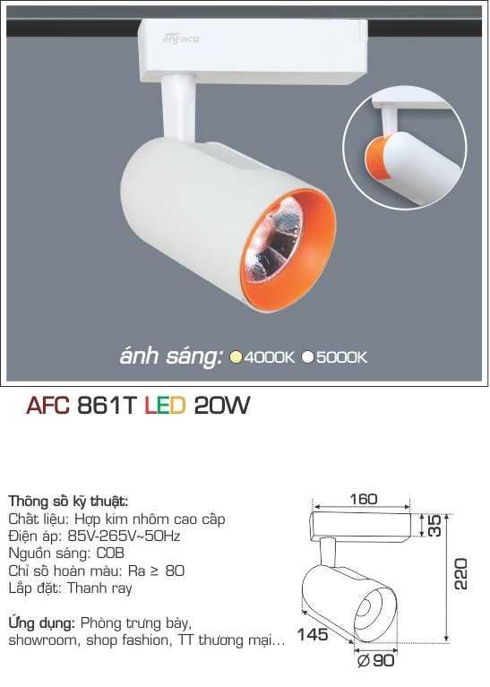 ĐÈN AFC 861T LED 20W