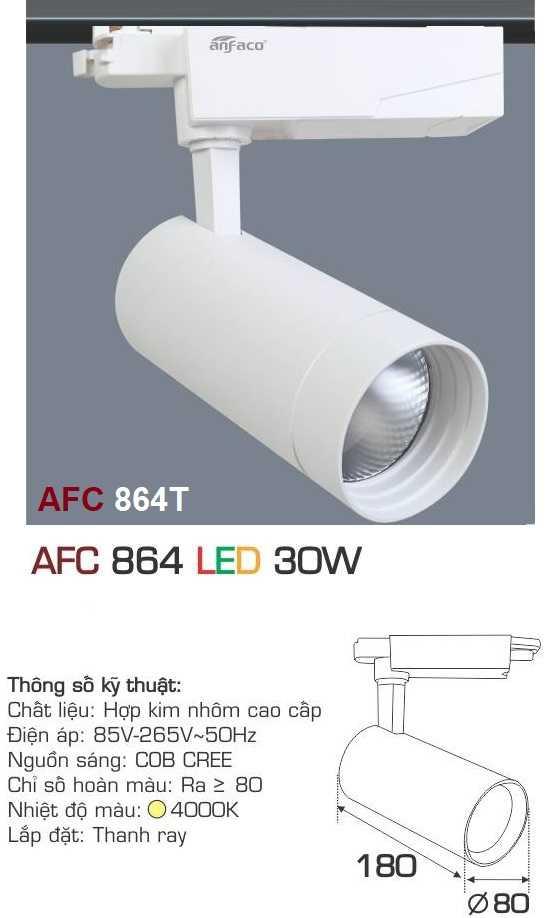 ĐÈN AFC 864T LED 30W