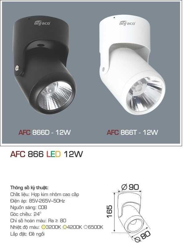 ĐÈN AFC 866 LED 12W