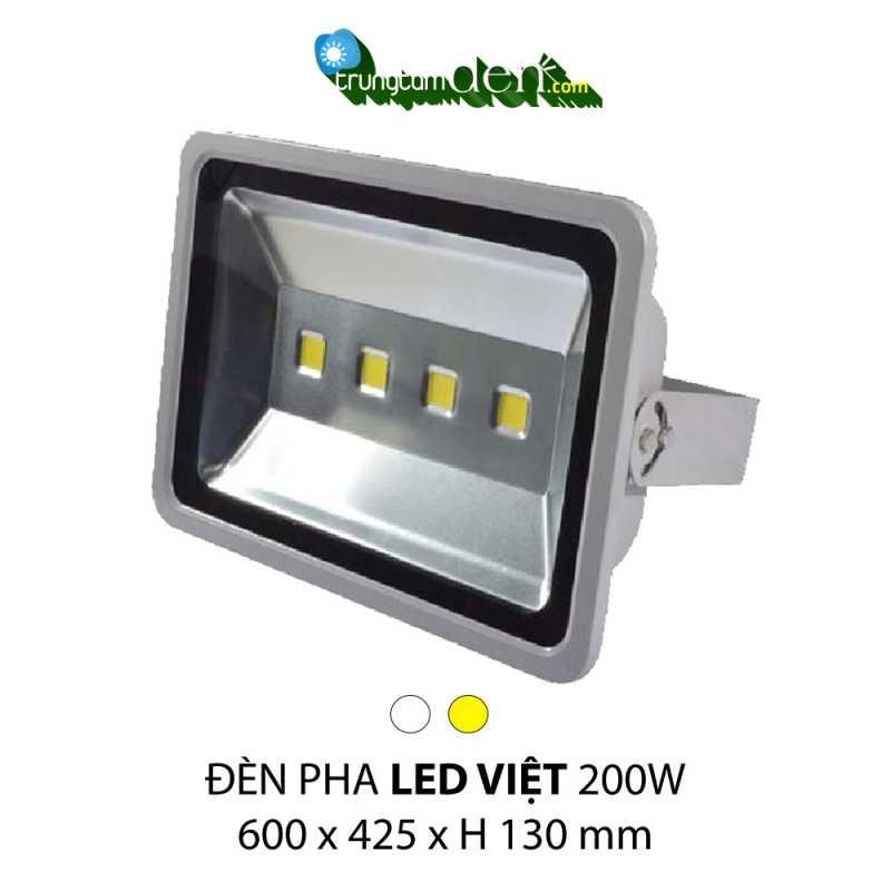 Đèn pha led 200w LED VIỆT (Mã sản phẩm: LV 20 TV)
