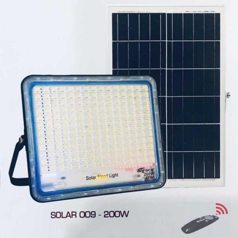 Đèn pha led 200w năng lượng mặt trời ANFACO