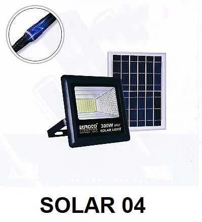 Đèn pha năng lượng Solar