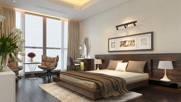 Đèn led ray chiếu tiêu điểm cho phòng ngủ