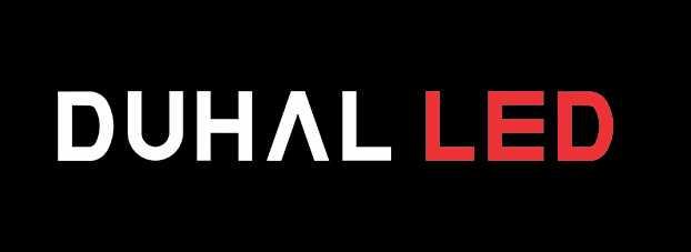 Logo đèn led Duhal