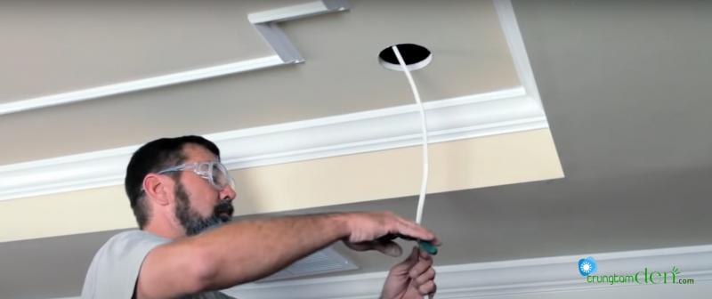 Hướng dẫn lắp đặt đèn led âm trần downlight led Anfaco