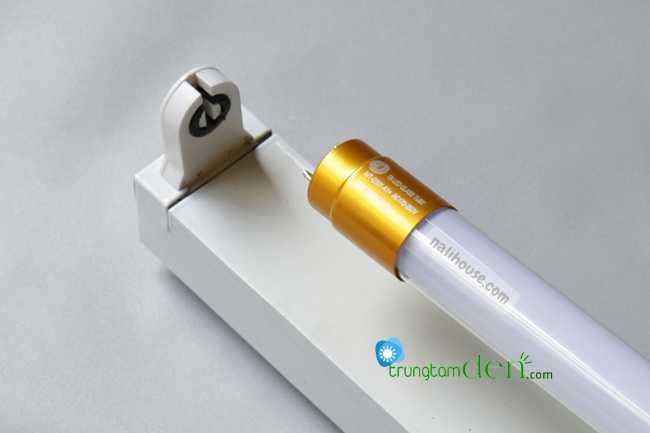 Hướng dẫn thay thế bóng huỳnh quang bằng bóng led