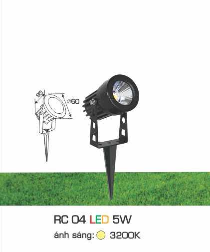 ĐÈN RC 04 LED 5W