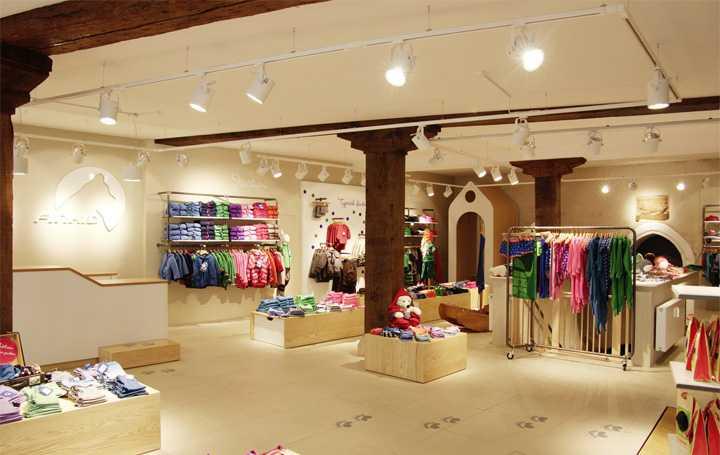 Đèn led rọi ray pha tiêu điểm Anfaco sử dụng cho shop thời trang