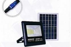 Tổng hợp giá bán đèn pha năng lượng mặt trời 100w