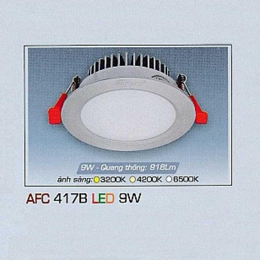 Đèn downlight led AFC 417B 9W 1C