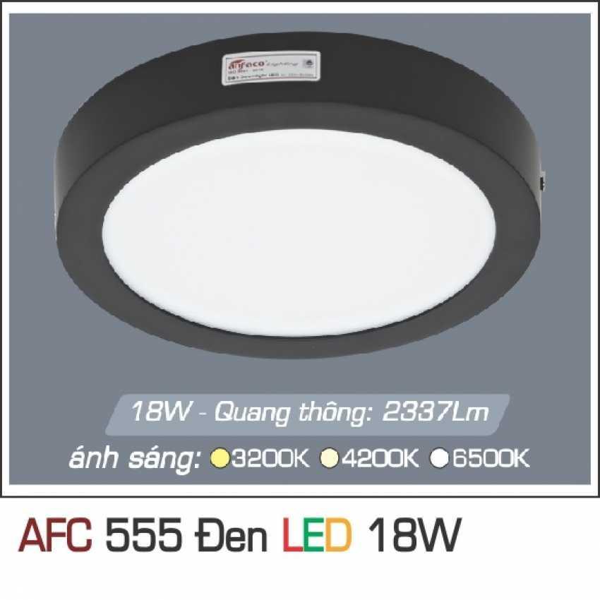 AFC 555 ĐEN 18W 1C