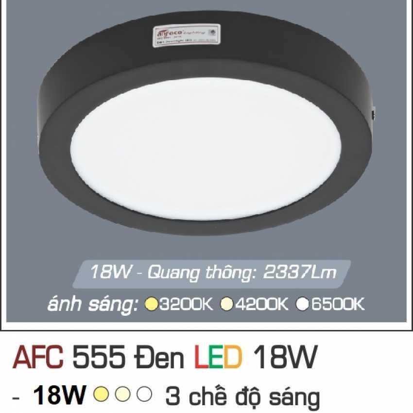 AFC 555 ĐEN 18W 3C