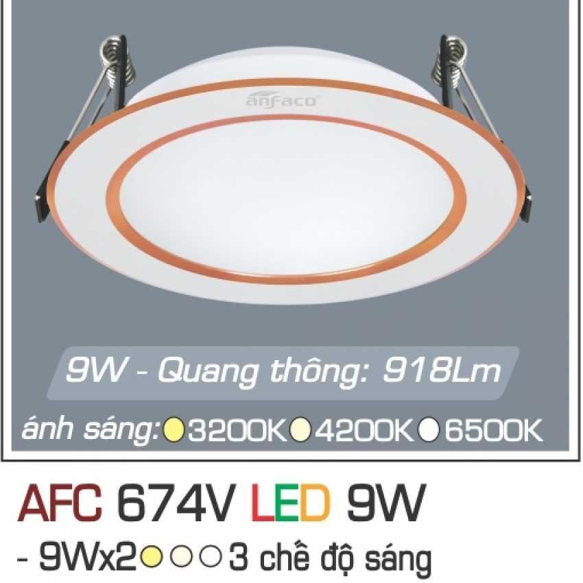 AFC 674V 9W 3C