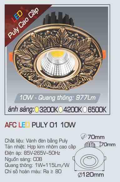AFC PULY 01 10W