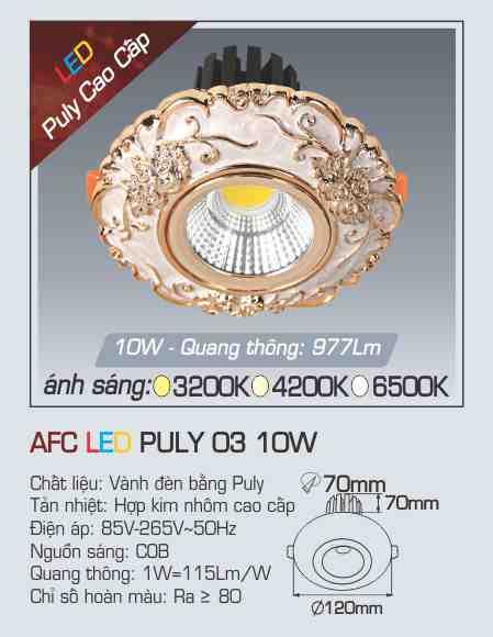 AFC PULY 03 10W