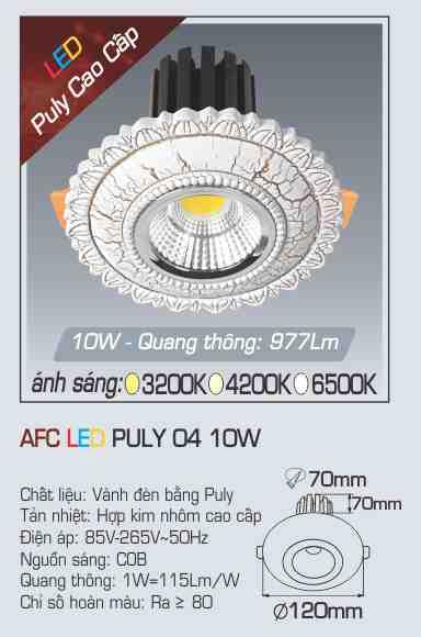 AFC PULY 04 10W