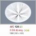 Đèn áp trần led 3 chế độ AFC 128 12W 3C
