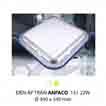 Đèn áp trần bóng huỳnh quang T6 AFC 151 22W