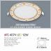 Đèn downlight led 1 chế độ AFC 407V 12W