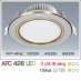 Đèn downlight led 3 chế độ AFC 428 12W 3C