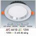 Đèn downlight led 3 chế độ AFC 441B 12W 3C