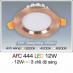 Đèn downlight led 3 chế độ AFC 444 12W 3C