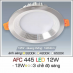 Đèn downlight led 3 chế độ AFC 445 12W 3C