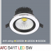 Đèn downlight led 1 chế độ AFC 541T 5W