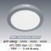 Đèn led nổi cao cấp 3 chế độ AFC 555 XÁM 18W 3C