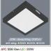 Đèn led nổi cao cấp 3 chế độ AFC 556 ĐEN 22W 3C