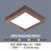 Đèn led nổi cao cấp 3 chế độ AFC 556 NÂU 18W 3C