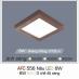 Đèn led nổi cao cấp 3 chế độ AFC 556 NÂU 6W 3C