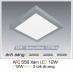 Đèn led nổi cao cấp 3 chế độ AFC 556 XÁM 12W 3C