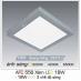 Đèn led nổi cao cấp 3 chế độ AFC 556 XÁM 18W 3C
