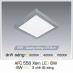 Đèn led nổi cao cấp 3 chế độ AFC 556 XÁM 6W 3C