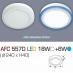 Đèn led nổi cao cấp 1 chế độ AFC 557D 18W+6W