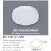 Đèn led nổi cao cấp 1 chế độ AFC 579T 32W
