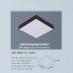 Đèn led nổi cao cấp 1 chế độ AFC 580D 24W