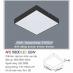 Đèn led nổi cao cấp 1 chế độ AFC 580D 22W
