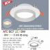 Đèn downlight led 3 chế độ AFC 607 9W 3C