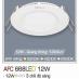 Đèn downlight led 3 chế độ AFC 668 12W 3C