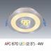 Đèn downlight led 1 chế độ AFC 670 4W