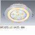 Đèn downlight led 1 chế độ AFC 670 9W