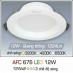 Đèn downlight led 3 chế độ AFC 676 12W 3C