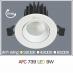 Đèn downlight led 1 chế độ AFC 739 9W