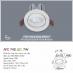 Đèn downlight led 1 chế độ AFC 742 7W