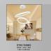 Đèn thả nghệ thuật LED DTHD 7028M/3